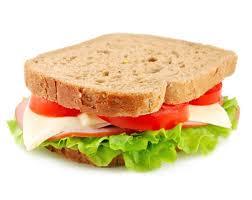 sanduíche pão de forma