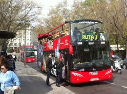 ônibus turístico Espanha