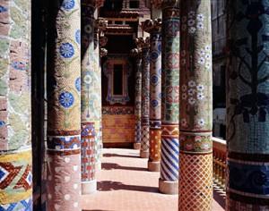 Detalle de las columnas del Palau