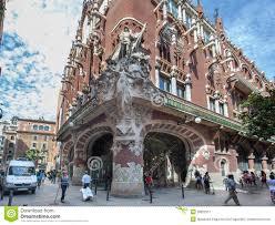 fachada Palau de la música catalana